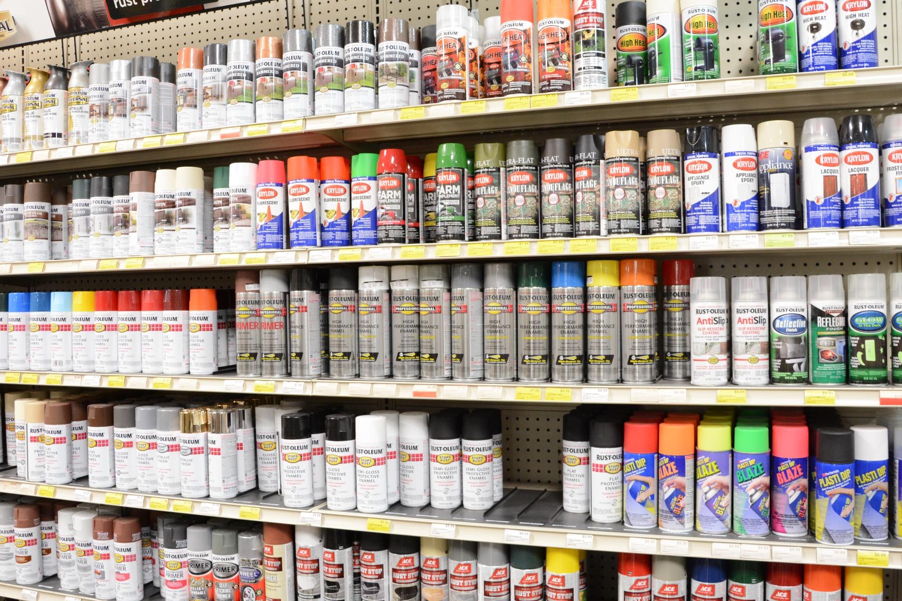 Paint Department Chatham Hardware Inc